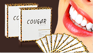 Cougar bieliace pásiky