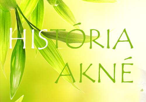 História akné