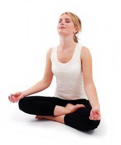 meditáciou proti akné